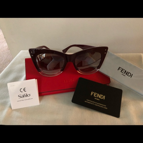 ba70ab0ae23 Fendi Cat Eye Sunglasses